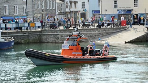 ld police boat padstow harbor ll 130506 wblog Speedboat Ran Over Family, 2 Dead, 4 Struggling