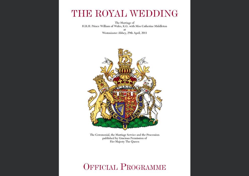 make a wedding program online