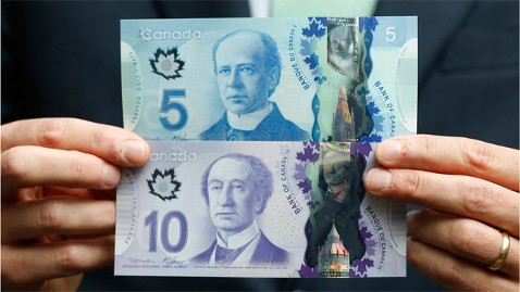 rt canadian maple bills nt 130529 wblog New Canadian Money Smells Like Syrup, Melts in Heat