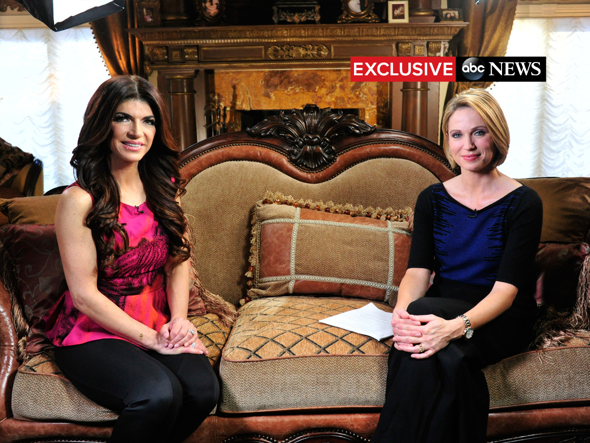 Good Morning America Home Invasion Interview : Teresa giudice photos and images abc news