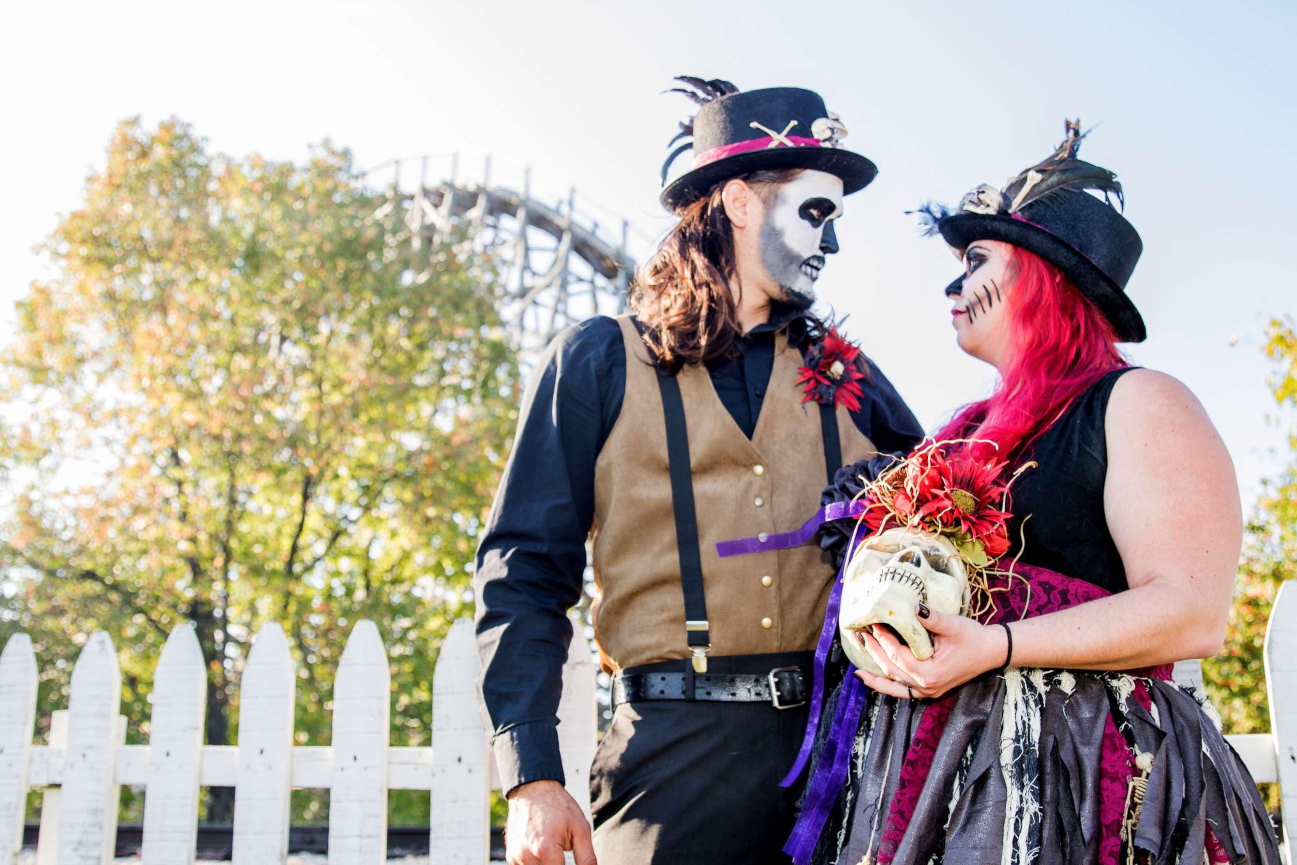 PHOTO: Jannea and Alfie Borero of Springfield, Illinois, are a
