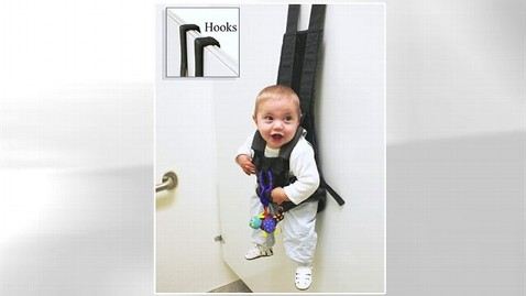 ht thebabykeeper lpl 130603 wblog When Nature Calls, Hang Your Baby From the Wall