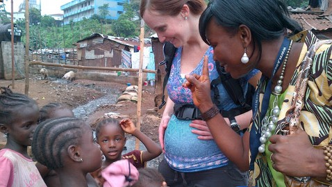 abc dr Erin Carey nt 111214 wblog Cry Out in Pain: Pregnant American Doctor Shocked by Labor in Sierra Leone