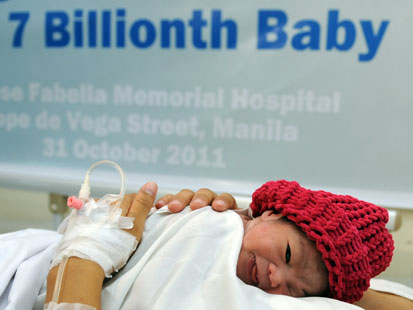 gty 7 billionth baby philipines danica mae camacho jt 111030 main Seven Billion And Counting...