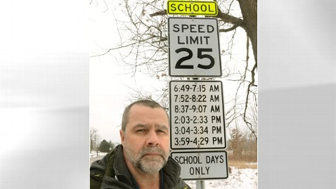 ap school speed sign michigan thg 120216 wblog School Zone Sign Fury: 1 Sign With 6 Times Too Much for Detroit Area Drivers