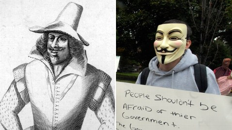 gty guy fawkes nt 111104 wblog How Did Guy Fawkes Become a Symbol of Occupy Wall Street?