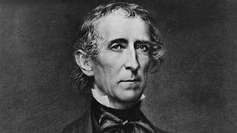 gty john tyler jp 120126 wblog Big Jerk: Grandson of Long Dead President Weighs in on Newt Gingrich