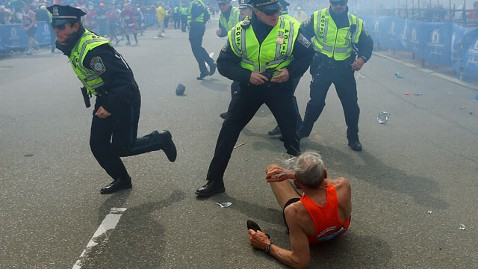 gty marathon explosion police tk 130415 wblog LIVE UPDATES: Boston Marathon Bombing, Day 2