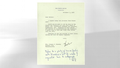 ht jfk letter mom jt 130504 wblog Instant Index: Letter From JFK to His Mom