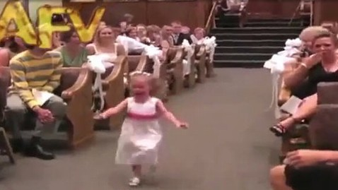ht youtube funny flowergirl jt 130316 wblog Instant Index: Flower Girl Meltdown, Smithsonian Photo Competition
