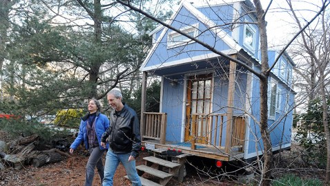 ld greg renee cantori 238 sq ft tiny house thg 130515 wblog Maryland Couple to Retire in $19K Tiny House on Wheels