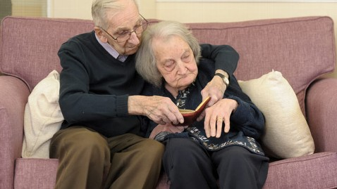 swns potter notebook kb 130305 wblog Jack Potter Reads 75 Years of Diaries to Wife With Dementia