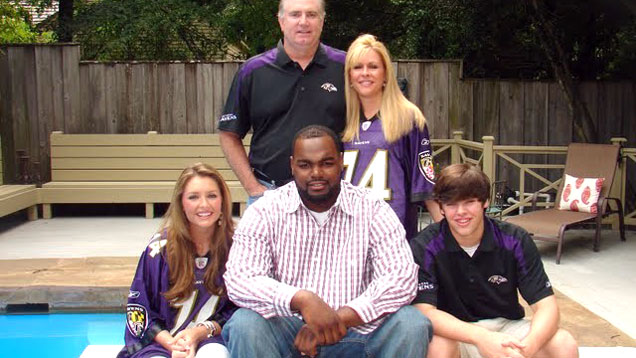 The Blind Side Michael Oher Family