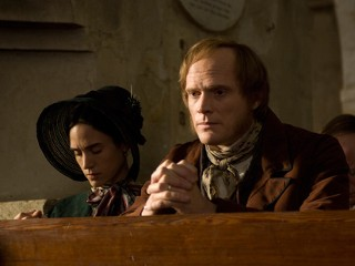 "PHOTO Jennifer Connelly and Paul Bettany are shown in a scene from Jon Amiel's ""Creation."""