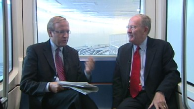 110923 pol karl alexander wb Senator Alexander to Romney on Mass. Health Care Law: Stick to Your Guns