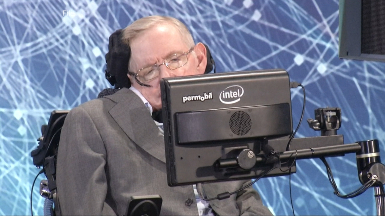 VIDEO: World-renowned British physicist Stephen Hawking may understand ...