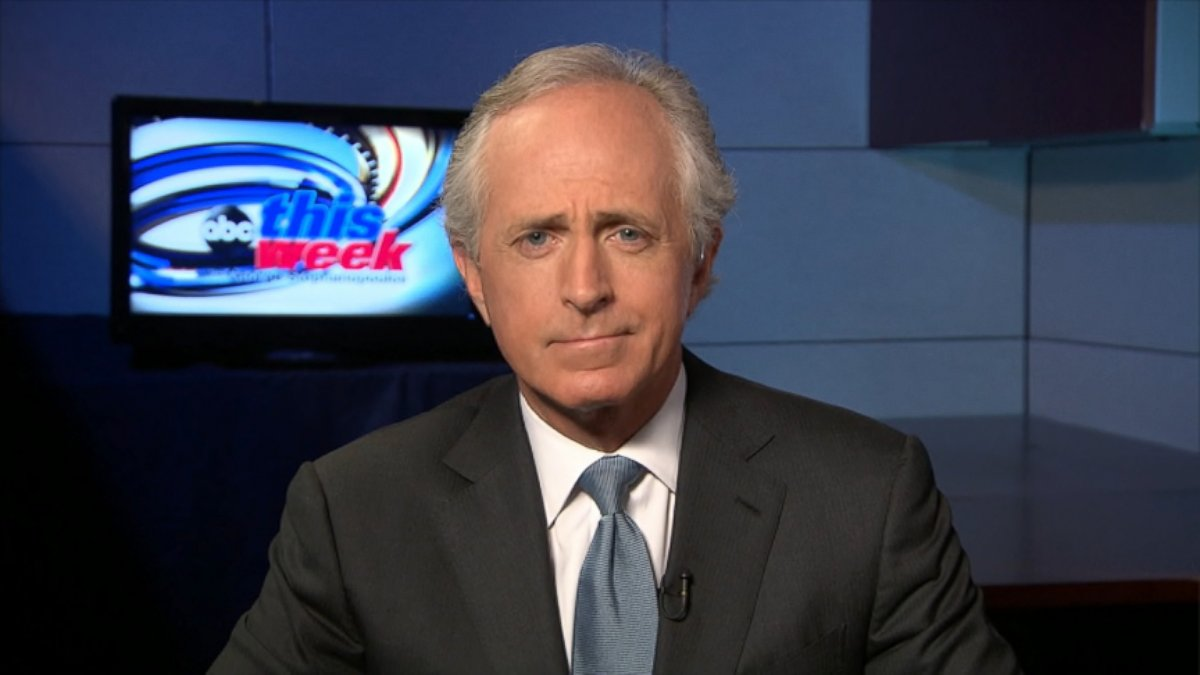 ABC bob corker this week jt 130818 Sen. Bob Corker: No Doubt Egypt Crackdown Is Going to Cause Us to Suspend Aid