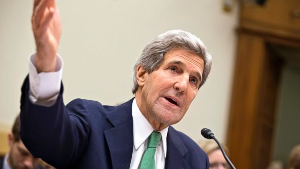 AP john kerry testifies iran deal 2 sk 131210 16x9 608 Kerry Expresses Disgust With Ukrainian Crackdown