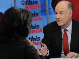 PHOTO: White House National Security Adviser Tom Donilon appears on ?This Week with Christiane Amanpour.?