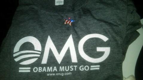 abc 10 OMG t shirt jt 120915 wblog Values Voter Summit: 11 Best Giveaways