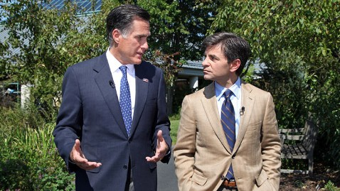 abc 3 mitt romney stephanopoulos dm 120914 wblog Mitt Romney And The Art Of The Double Down (The Note)