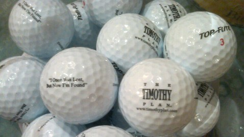abc 4 golfballs jt 120915 wblog Values Voter Summit: 11 Best Giveaways