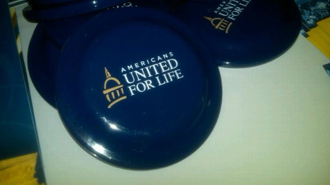 abc 8 united for life frisbees jt 120915 wblog Values Voter Summit: 11 Best Giveaways