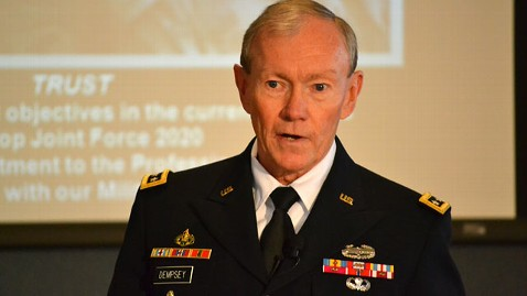 abc General Martin Dempsey jt 111119 wblog Gen. Martin Dempsey to Reporters: What Happens When the Trumpets Fade?