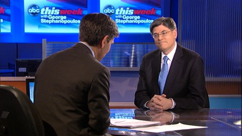 abc TW Jack Lew jt 120701 wblog Despite Ruling, Jack Lew Refuses to Call Health Care Mandate a Tax