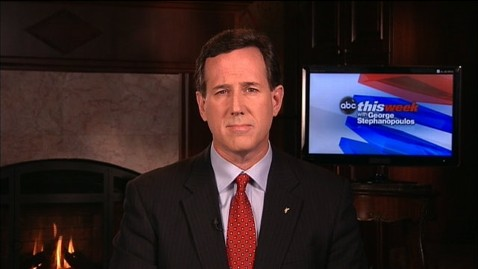 abc TW Santorum1 jt 120226 wblog Rick Santorum: JFKs 1960 Speech Made Me Want to Throw Up