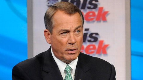 abc TW  John Boehner1 jt 120129 wblog Speaker Boehner Says Obama Economic Message Divides Americans