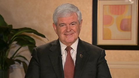 abc TW newt gingrich 2 jt 120129 wblog Newt Gingrich Defends Food Stamps vs. Paychecks Charge