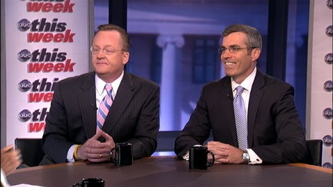 abc TW robert gibbs kevin madden 1 jt 120729 wblog Robert Gibbs: Mitt Romney Embarrassed Himself at Olympics