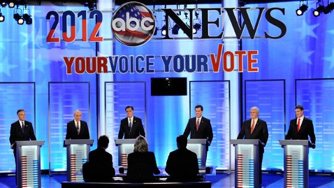 abc all candidates jef 120107 wblog 6.25 Million Americans Watched the ABC News Republican Debate in New Hampshire