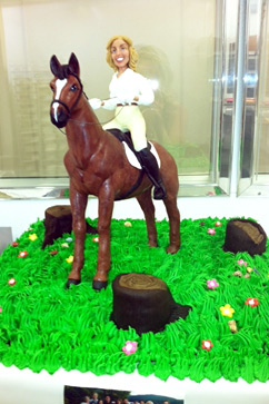 abc ann romney birthday cake ll 120417 vblog Trump Throws Ann Romney Birthday Bash With Equestrian Cake