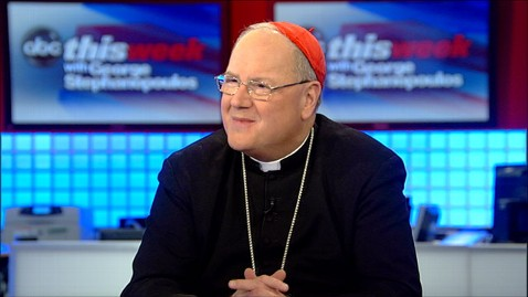 abc archbishop timothy dolan this week jt 130330 wblog Cardinal Timothy Dolan: Catholic Churchs Nature Means It Will be Out of Touch Sometimes
