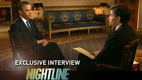 abc barack obama george Stephanopolous nightline interview thg 130313 wblog President Obama: There Is No Debt Crisis