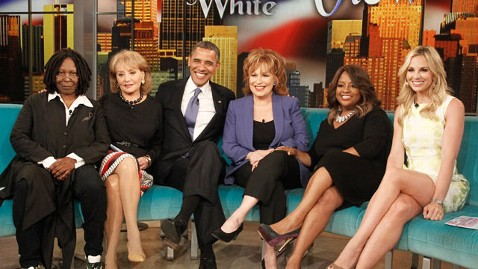abc barack obama the view wy 120514 wblog Obama Faces Questions on Federal Fight for Same Sex Marriage