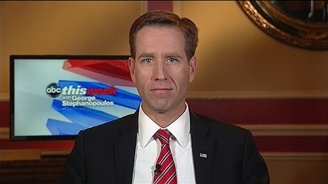 abc beau biden this week jt 121014 wblog Beau Biden Defends Fathers Vice Presidential Debate Performance