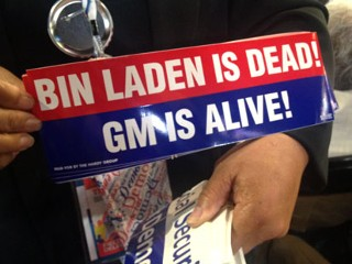 osama is dead and gm is alive