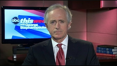 abc bob corker this week 130113 wblog Sen. Corker Says There Are Questions About Chuck Hagels Temperament