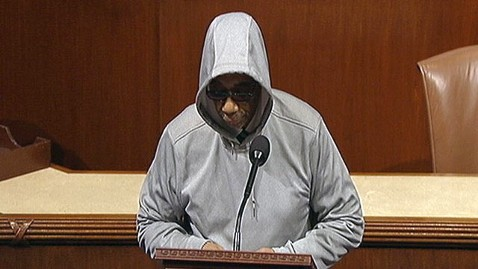 abc bobby rush jp 120328 wblog Lawmaker Cut Off For Wearing Hoodie on House Floor