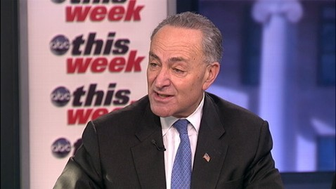 abc charles schumer this week 2 jt 121230 wblog Sen. Charles Schumer: More than 50 50 Chance of Reaching Fiscal Cliff Deal