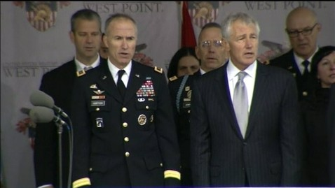 abc chuck hagel 7 jt 130525 wblog Chuck Hagel to West Point Cadets: Sexual Assault Is a Profound Betrayal