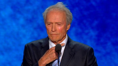 abc clint eastwood wy 120830 wblog Live Blog: Republican National Convention 2012 Day 4; Mitt Romneys Big Night