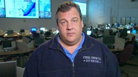 abc gma christie 121030 wblog New Jersey Gov. Chris Christie Praises President Obama for Sandy Response