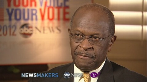abc herman cain interview thg 111108 wblog Heading Into South Carolina Debate, Cain Still Proving Pundits Wrong