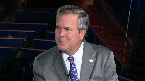 abc jeb bush ll 120829 wblog Jeb Bush on RNC: George W. Is Smart to Stay Away