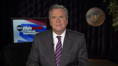 abc jeb bush this week 1 jt 130309 wblog Jeb Bush: Im in Sync With Lindsey Graham on Immigration Reform