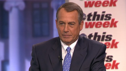 abc john boehner this week jt 130315 wblog John Boehner Cant Imagine His Gay Marriage Views Shifting